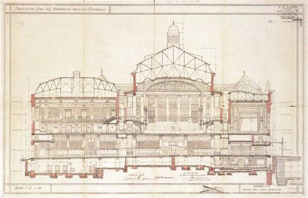 Wiener konzerthaus architektur - Architektur schnitt ...